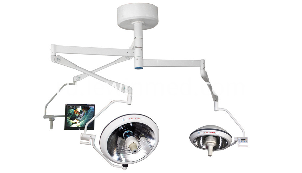 Halogen lamp have camera system