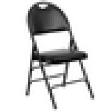 Cadeira dobrável de metal