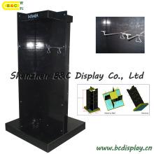 Karton Display mit Haken, Wühlkorb Display, Papier Display Rack, Karton Display-Ständer, Promotion Display (B & C-B036)