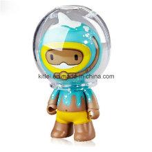 De alta calidad interior de juguete de acción de dibujos animados Mini juguetes de plástico