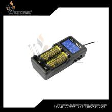 Chargeur Xtar Vc2 avec écran LCD pour batterie 18650 26650