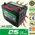 Batería de arranque del coche de batería del vehículo eléctrico de JIS-55D26 12V60AH Mf