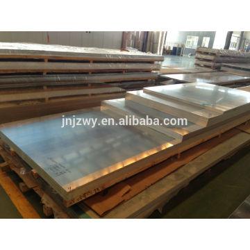 Placa de liga de alumínio 5083 anodizada de 5,0 a 400 mm