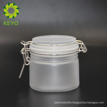 250ml empty packaging cosmetics body cream use frosted square cosmetic plastic jar