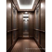 Ascenseur passager approuvé SGS pour hôtel luxueux