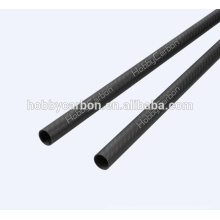 3k Glossy crfp 100% carbon tube for Quadcopter, Multicopter 28mm