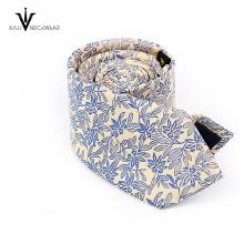 Пользовательские дизайн логотипа микрофибры жаккардовые мужские галстуки