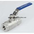 Haute pression 3000 psi Double robinet à tournant sphérique