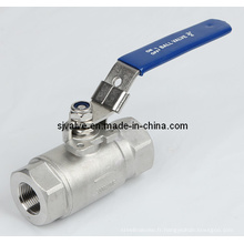 Robinet à tournant sphérique 2PC avec haute pression (VALVULA)