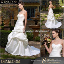 High end china factory direct wholesale puffy wedding dresses