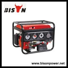 BISON (КИТАЙ) 3kw Фактическая номинальная мощность Медь 10 hp Генератор