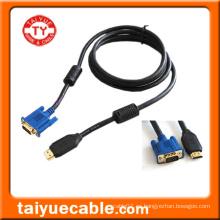 Cable HDMI a VGA, macho / macho
