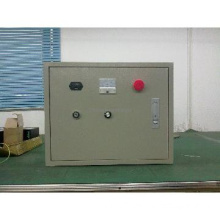 The special control box for electric flat car