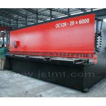 Máquina de corte hidráulica de controle CNC (QC12K-20X6000 E20)