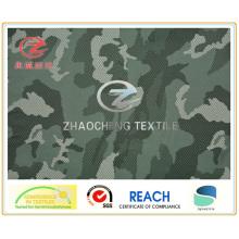 240t Poly Pongee Ribstop Desert Camouflage Printing (ZCBP108)
