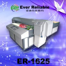 Impressora solvente Eco da decoração da parede de vidro do leito de Digitas