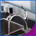 Brass Body Pull out Kitchen Sink Faucets with Big Sprayer