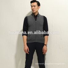 Fashion design man's cashmere knitting vest