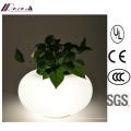 Moderne Opal White Base Glas Tischlampe für Hotel Project