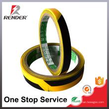 Yellow-Black Anti Slip Waterproof PVC Adhesive Tape Floor Marking Caution Tape