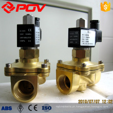 PS normalmente aberta válvula solenóide de ação rápida direta