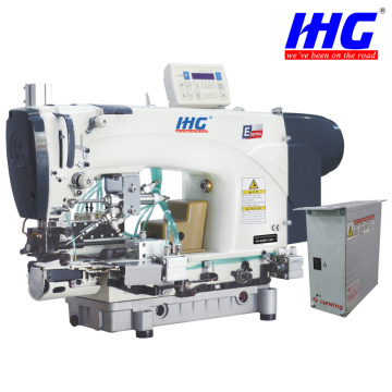 IH-639D-CSH Direct Drive Chainstitch Bottom Hemming Machine With Automatic Thread Trimmer