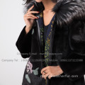 Winter Mink Fur Coat Reversible