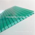 Feuille creuse en polycarbonate colorée 4mm / 6mm / 8mm / 10mm / 12mm / 16mm pour toiture