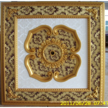 Burgund & Gilt Bracade Dekorative Künstlerische Decke Dl-1114-10