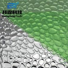0.3mm 0.4mm 0.5mm hoja de aluminio Stucco 1100 3003 hoja de aluminio en relieve