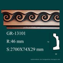 Antike Produkte Hausdekorationen PU Krone Formwinkel für Decke