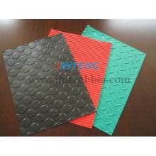 Folha de borracha (Checker + Diamond Treal + Stud + Wide Ribbed + Fine Rubbed Folha de Borracha)