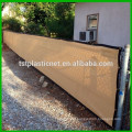 6 x 50 Professional Grade Green Knitted Privacy Fence Screen with Grommets