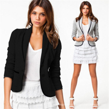 Cheap Wholesale Slim Casual Women Business Suit (50087-1)