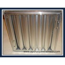 Filtro de grasa de malla de aluminio de acero inoxidable reutilizable lavable