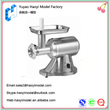 Professional custom household polishing grey meat grinder prototype