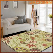 100% tapis de sol en polyester, tapis de chambre à coucher à la maison