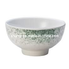 """Utensílios de mesa 100% da melamina - bacia de arroz da série do """"Celadon"""" / utensílios de mesa de primeira qualidade (AMY-2005)"""
