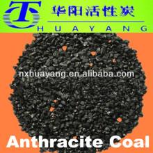 Carbón antracita para agua de la planta de energía eléctrica