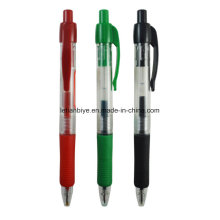 Customized Logo Advertising Click Water-Based Lnk Plastic Pen