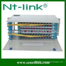 Panneau de raccordement fibre optique adaptateur 19 pouces 96 noyau FC