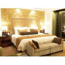 Conjunto de móveis de quarto de hotel de 5 estrelas