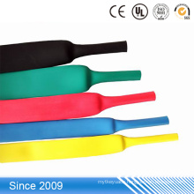 Wire splices Flame retardant bolt insulation sleeve,thin wall heat shrinkable tube
