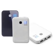 Wiederaufladbare Universal Portable Mobile Power Bank Dual USB Ausgänge