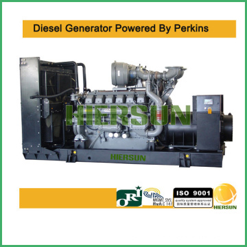 9kva-2000kva featured low fuel consumption Powered by Perkins Diesel Generator