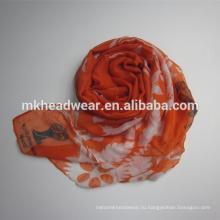 Длинный шаль из полиэфирной ткани из пашмины