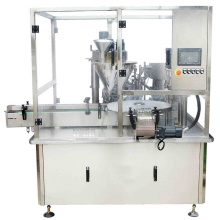 Filling Machine Semi Automatic Powder Auger Filler Weigh Labeling Machine