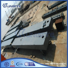 marine pontoon dock for marine building and dredging(USA1-022)