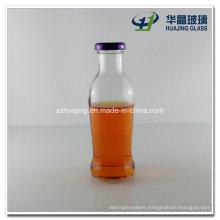 350ml 12oz Screw Top Beverage Glass Juice Bottle
