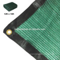 high quality dark green knitted mesh fabric,construction fence/privacy screen/ fence tarp/shade, dust & wind net w/ 85% sun bloc